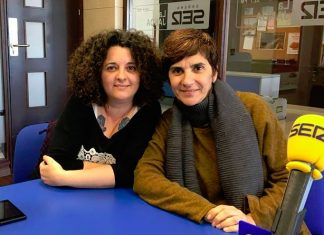 Carmen Lago y Rosa Rojas