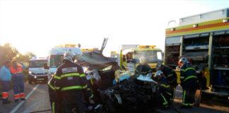 La fallecida en el accidente con el autobús escolar era de Conil