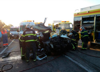 La fallecida en el accidente con el autobús escolar era de Conil
