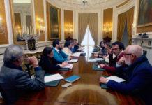 Reunión de Diputación provincial sobre Tugasa