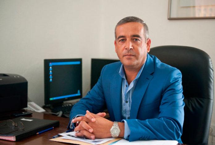 Antonio Garcia Ortega. Alcalde de San José del Valle
