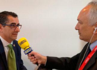 Miguel Molina,Alcalde de Barbate en FITUR