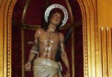 San Sebastián, patrón de Paterna de Rivera