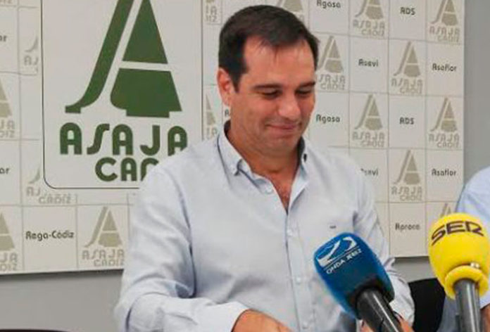 Pedro Gallardo, presidente de ASAJA Cádiz
