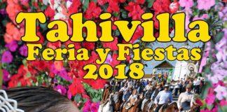 Cartel de la Feria de Tahivilla 2018