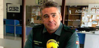 Manuel González portavoz de la Guardia Civil