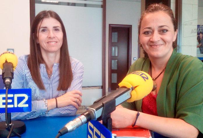 Gema Mena y Cristina Pinto
