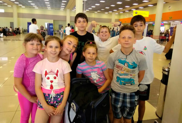 Niños rusos